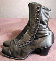 Button boots of the 1890 time era.