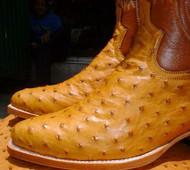 Ostrich Cowboy Boots - Made to Your Measurements