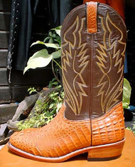 Hornback Crocodile Boots - Made to Your Measurements 3
