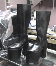 Inspired by; Gene Destroyer Boots Starting Point for kiss costume