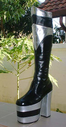 Inspired by; PETER CRISS Alive BOOTS for Kiss Costumes