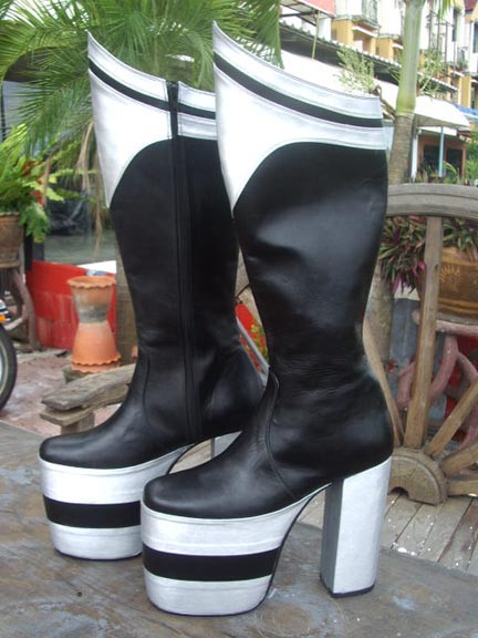 Peter Criss Destroyer Boots For Kiss Costume Motorcowboy