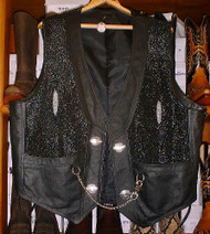 Stingray Leather Vest