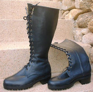 Tall Lace-up with Zipper Special Order