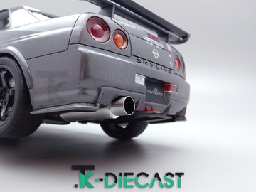 Nissan R34 Skyline Exhaust
