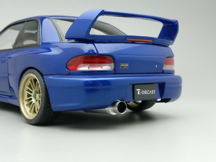 Subaru 22B Exhaust