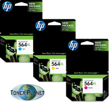 HP 564XL 3-Color Combo Pack (Cyan, Yellow, Magenta)