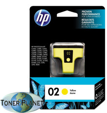 HP 02 Yellow (C8773WN#140)