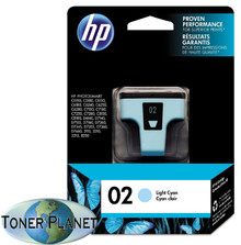 HP 02 Light Cyan (C8774WN#140)
