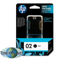 HP 02 Black (C8721WN#140)