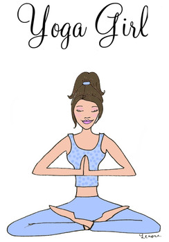 Yoga Girl cards