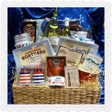 Weekend In The Hamptons Nautical Gift Basket Sold Out