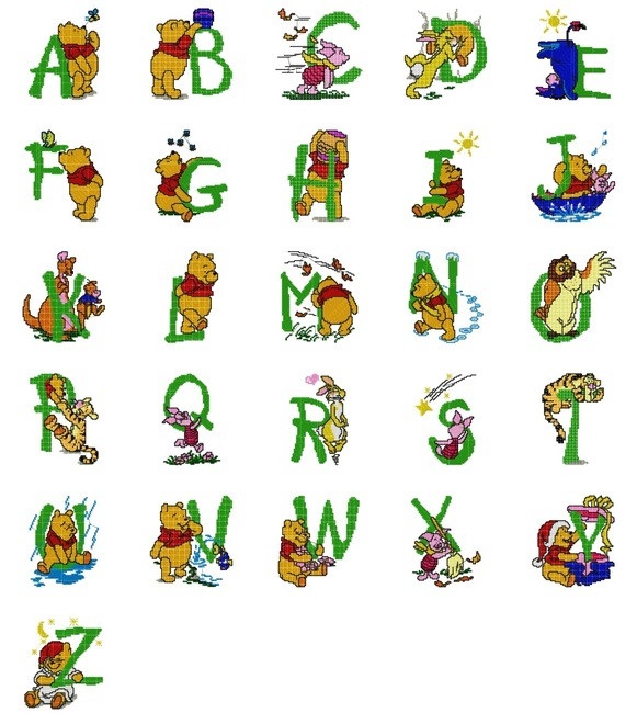 winnie the pooh machine embroidery designs