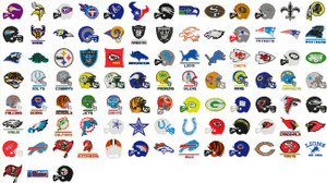 NFL SPORTS TEAMS HUGE COLLECTION EMBROIDERY DESIGNS