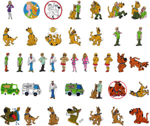 SCOOBY DOO MACHINE EMBROIDERY DESIGNS