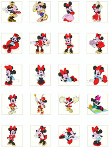 MINNIE MOUSE MACHINE EMBROIDERY DESIGNS