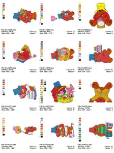 PADDINGTON BEAR MACHINE EMBROIDERY DESIGNS