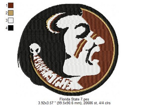 Florida State 4x4 Florida State Seminoles football Set of 20 EMBROIDERY DESIGNS INSTANT DOWNLOAD HUGE COLLECTION