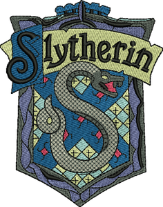 Slytherin Harry Potter Embroidery Designs Instant Download
