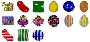 15 CandyCrush Game 4X4  Embroidery Machine Designs  Instant Download