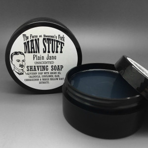 Plain Jane Shaving Soap (Unscented)