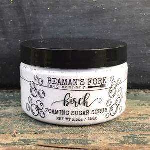Birch Foaming Sugar Scrub