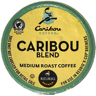 Caribou Coffee Caribou Blend K Cups, 24 Count