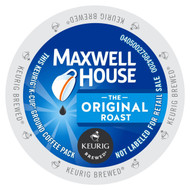Maxwell House Original Roast Coffee K Cups