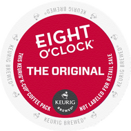 Eight O'Clock Original K Cups, 24 Count