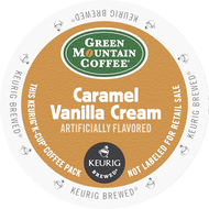 Green Mountain Caramel Vanilla Crème K Cups, 24 Count