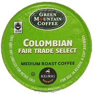 Green Mountain Colombian Fair Trade Select K Cups, 24 Count