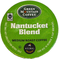 Green Mountain Nantucket Blend K Cups, 24 Count