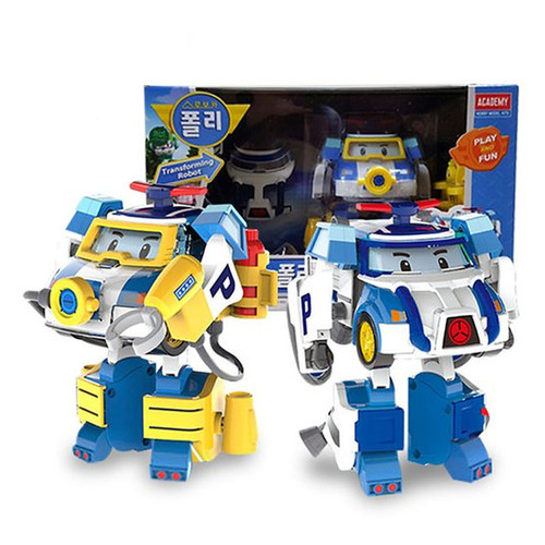 Robocar poli space marine pack 4 mode change transformer - Robot car polly ...