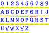 ALGERIAN Machine Embroidery Designs Fonts Instant Download