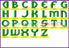 ALIENS Machine Embroidery Designs Fonts Instant Download
