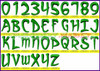 ARCANUM Machine Embroidery Designs Fonts Instant Download