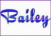 BAILEY Machine Embroidery Designs Fonts Instant Download