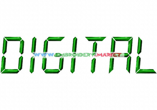DIGITAL Machine Embroidery Designs Fonts Instant Download
