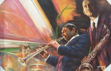 Jazz band Musician 1