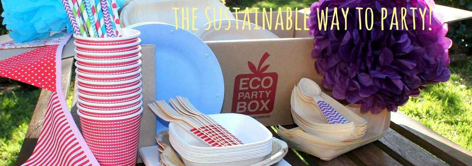 Eco Party Box helps you party sustainably.