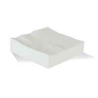 Our 2-ply 300x300mm (1/4 fold) white lunch napkins come in packs of 100