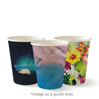 8oz Single Wall Art Series Cups - Pack of 50