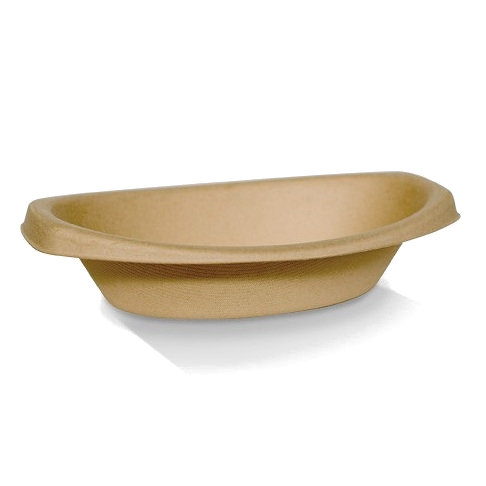 Oval Bamboo Bowls