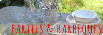 Ideas for an eco party or barbeque