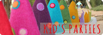 Ideas for eco kid's parties