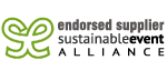 Sustainable Event Alliance endorsed supplier