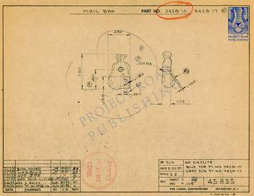 3428-10 Mail Bag Drawing