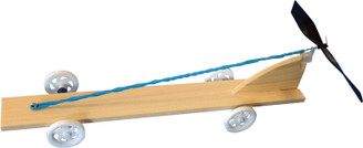 KELVIN® Rubberband & Propeller Car