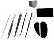 Modeling Clay Tool Set