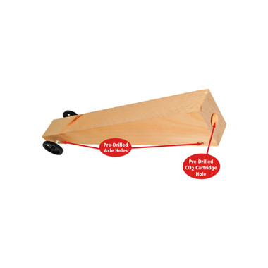 Kelvin Co2 Dragster Kits With Pre Drilled Blanks Kelvin